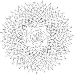 Cosmic Energy Mandala White