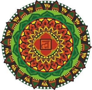 Infinite Freedom Chakra Mandala