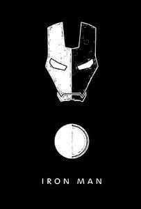 Ironman Black N White