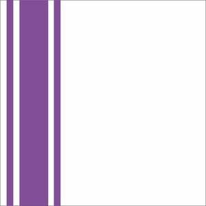 Minimal Purple Strips On White