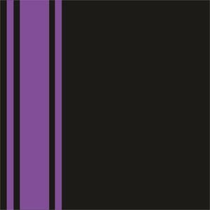 Minimal Purple Strips On Black