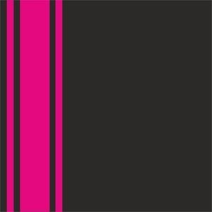 Minimal Bright Pink Strips On Black