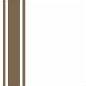 Minimal Brown Strips On White