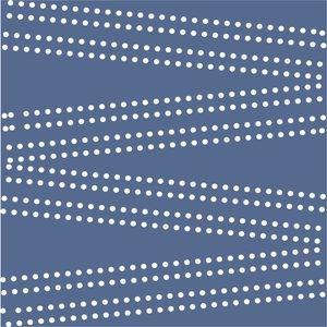 Cross Dot On Blue