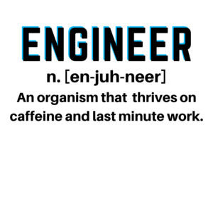 Engineer Definition 2 On Blue