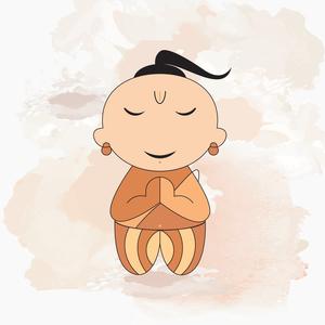 Cute Little Brahmin Boy
