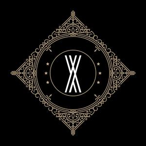 Retro Black Letter X