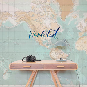 World Map Wanderlust