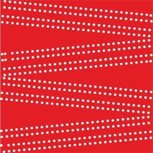 Cross Dot On Red