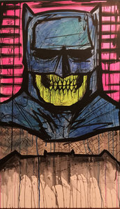 Hand Drawn Batman