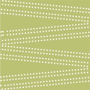 Cross Dot On Olive Green