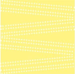 Cross Dot On Pastel Yellow