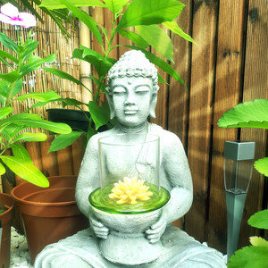 Buddha Zen With Lotus Flower