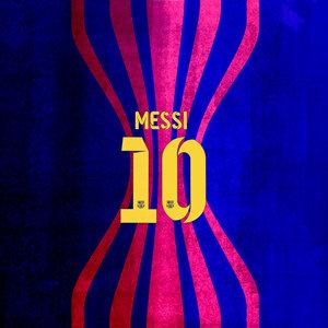 Barcelona Messi 10