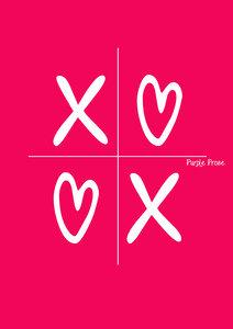 XOXO On Pink